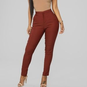 Fashion Nova Been There Done That Trouser Pants